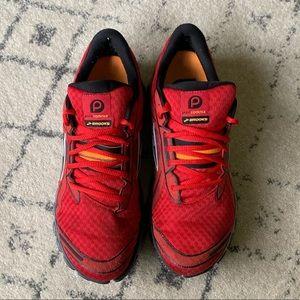 Brooks Pure Cadence red men's running shoe